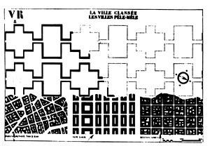 Formas urbanas: as quadras de Paris, Nova York e Buenos Aires confrontadas com a proposta da Ville Radieuse de Le Corbusier