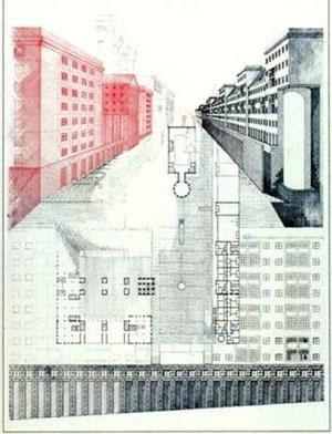 A morfologia como desenho urbano – Galaratese de A. Rossi