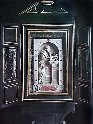 Armário memento mori, Paul Richiel, Castelo de Ambras, sec XVI