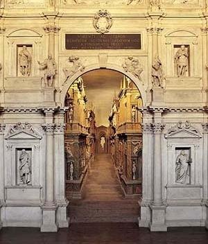 Teatro Olímpico, Vicenza. Palladio/Scamozzi, 1585