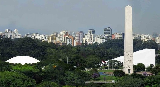 Parque do Ibirapuera, São Paulo<br />Foto Victor Hugo Mori