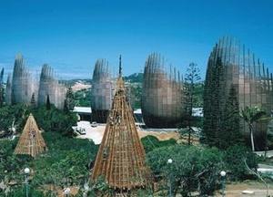 Centro Cultural Jean Marie Tijibaou, complexidade ordenada [www.rpbw.com]