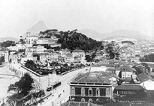 Glória em 1908<br />Foto de Maltta  [Arquivo da cidade do Rio de Janeiro]