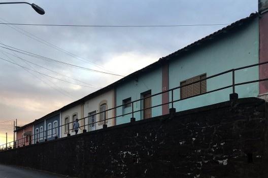 Casas operárias, complexo ferroviário, Botucatu<br />Foto Antonio Zagato  [Acervo UPPH/SEC/SP]