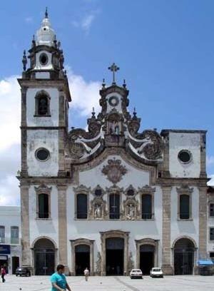 Basílica do Carmo, Recife, 1767<br />Foto do autor, 2003