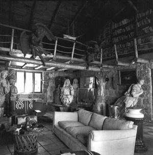 Salón de Isla Negra<br />Foto Luis Poirot