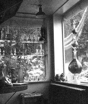 Objetos em La Chascona<br />Foto autor desconhecido (possivelmente Matilde Urrutia)