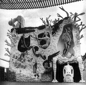 El sueño de Venus, Feria Mundial de Nueva York, 1939<br />Foto autor desconhecido