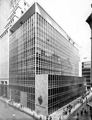 Bank of London and South America, R. Quinze de Novembro, São Paulo, 1959