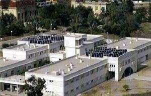 Residencia Sant Josep, Centro Geriatrico, com sistema de energia solar térmica, Barcelona [ICAEN – Institut Català d'Energia]