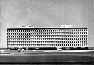 Edifício R3 da superquadra SQS 203, a pré-fabricação como sistematização construtiva [arquivo pessoal do arquiteto]