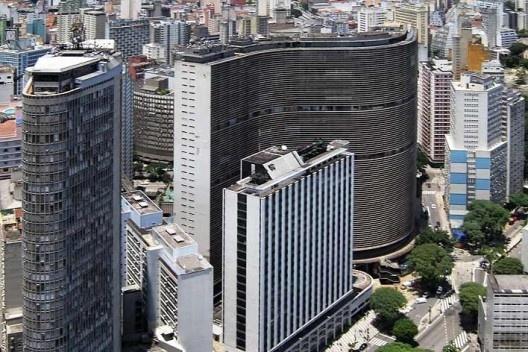 Edifício Copan, São Paulo. Arquiteto Oscar Niemeyer<br />Foto Victor Hugo Mori