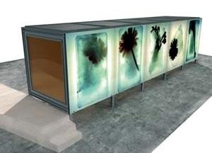 Quiosque Multifuncional, 2001-2002. Arquiteto João Mendes Ribeiro