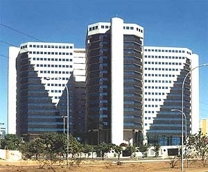 Edifício em Brasília<br />Foto Abilio Guerra