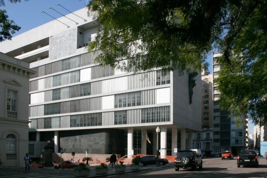 Restauração Palácio da Justiça, Carlos M. Fayet, 2000/2003<br />Foto Abilio Guerra
