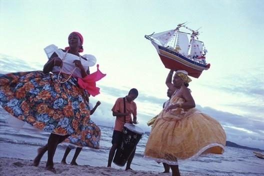 Samba de Roda, região do Recôncavo, Bahia<br />Foto Luiz Santos  [Portal Iphan]