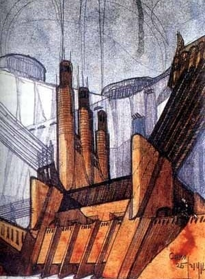 Cita Nuova, Antonio Sant´Elia, 1914