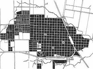 Area urbanizada en Curuzú Cuatiá en 1999