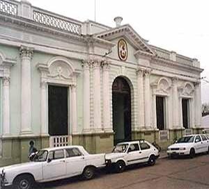 Edificio de la municipalidad, Curuzú Cutiá