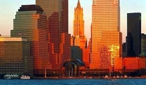 World Financial Center, Nova York. Arquiteto Cesar Pelli [Cesar Pelli & Associates Architects]