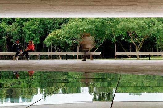 Museu Oscar Niemeyer, Curitiba. Arquiteto Oscar Niemeyer<br />Foto Nelson Kon
