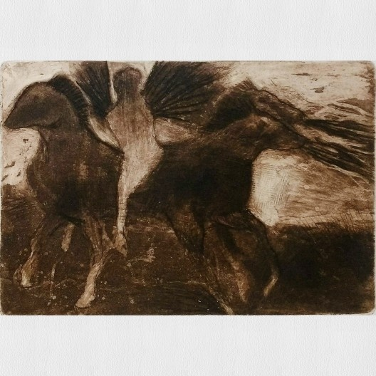 Gravura de Felipe Florêncio, exposição <i>O estado da arte no ofício</i><br />Imagem divulgação