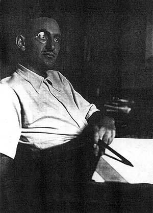 Figura 01 – Retrato de Alexander Altberg em Berlim, 1930 [Coleção Alexandre Altberg]