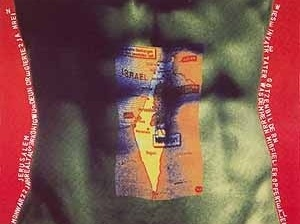 Sem título (série body-builders), 160 x 205 cm. Alex Flemming, 2001