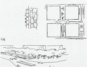 Superquadras, desenho de Lúcio Costa [Registro de uma vivência]
