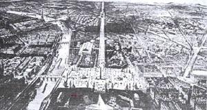 Desenho de Paris [Brasília, uma questão de escala]