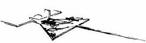 Praça dos Três Poderes, desenho de Lúcio Costa [Registro de uma vivência]