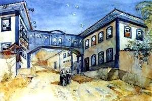 Rua de Diamantina, desenho de Lúcio Costa [Registro de uma vivência]