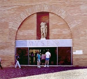 Museu de Arte Romana, Mérida. Entrada