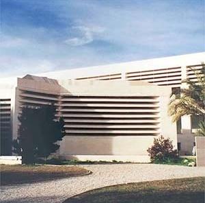 Fundação Pilar e Joan Miró, Palma de Mallorca. Vista externa do edifício