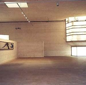 Fundação Pilar e Joan Miró, Palma de Mallorca. Vista interna do bloco de exposições