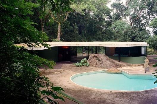 Casa das Canoas, Rio de Janeiro RJ, 1950-1954, arquiteto Oscar Niemeyer<br />Foto Nelson Kon