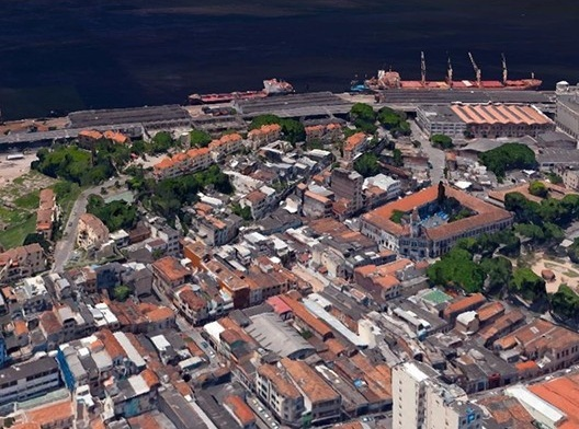 Moradas da Saúde, situação urbana, Rio de Janeiro, 1996. Arquitetos Demetre Anastassakis e Cláudia Mello<br />Foto divulgação