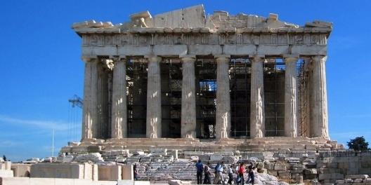 Parthenon, Athenas<br />Foto Victor Hugo Mori