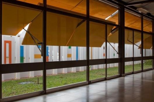 Hospital Sarah Lago, Brasília DF. Arquiteto João Filgueiras Lima, Lelé<br />Foto Nelson Kon