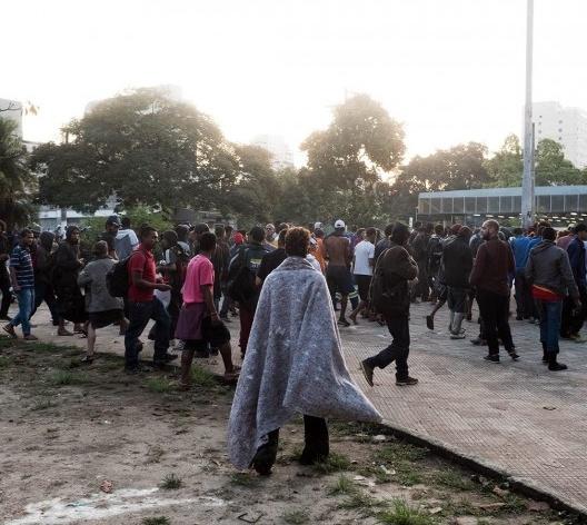 Dependentes químicos se deslocam para outras regiões do centro de São Paulo<br />Foto Tommaso Protti