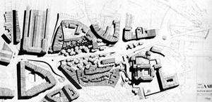 Fig. 18 - Estudo Urbanístico para a Avenida da Ponte, Porto, 1955, Fernando Távora