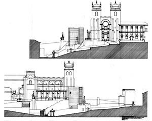 Fig. 21 - Casa dos 24, alçados, Anteprojeto, 1996
