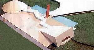 Maquete do Teatro do Ibirapuera, arquiteto Oscar Niemeyer [Jornal da Tarde, 12 fev. 2003]