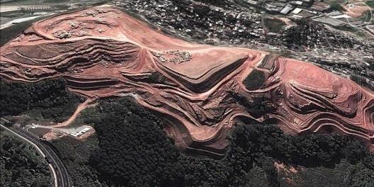 Terraplanagem em Barueri<br />Foto Álvaro Rodrigues dos Santos