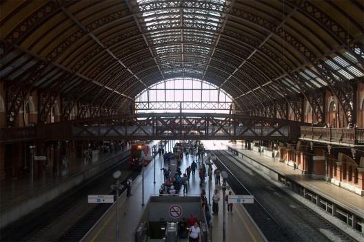 Gare da Estação da Luz<br />Foto Silvana Romano