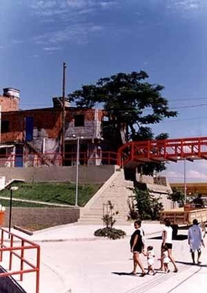 Passarela e acessos, Parque Boa Esperança, Caju RJ. Projeto Fábrica Arquitetura