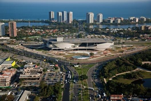 Cidade das Artes, Rio de Janeiro. Arquiteto Christian de Portzamparc<br />Foto Nelson Kon