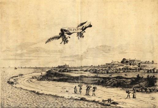 Olinda: conventos em ruínas, Frans Post