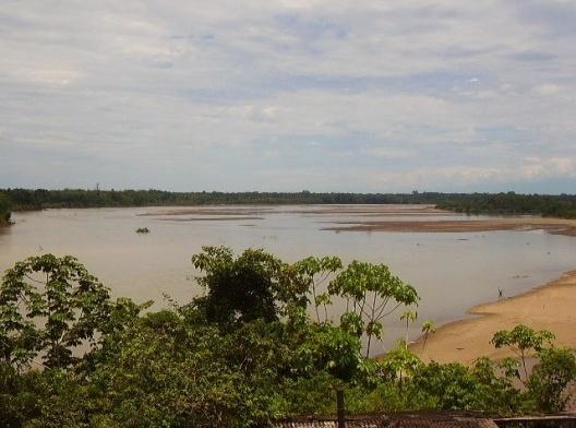 Rio Japurá, Amazônia<br />Foto Hernia  [Wikimedia Commons]