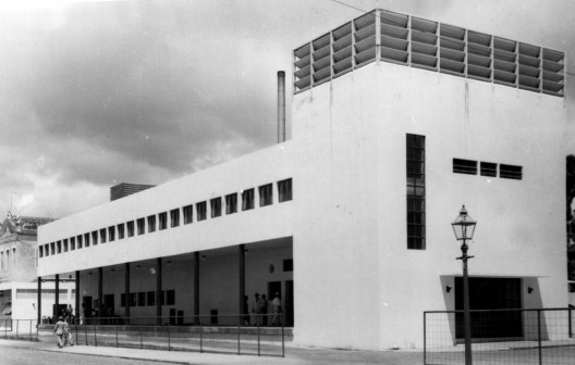 Usina Higienizadora de Leite, 1933. Arquiteto Luiz Nunes<br />Foto divulgação  [Acervo do Museu da Cidade do Recife]